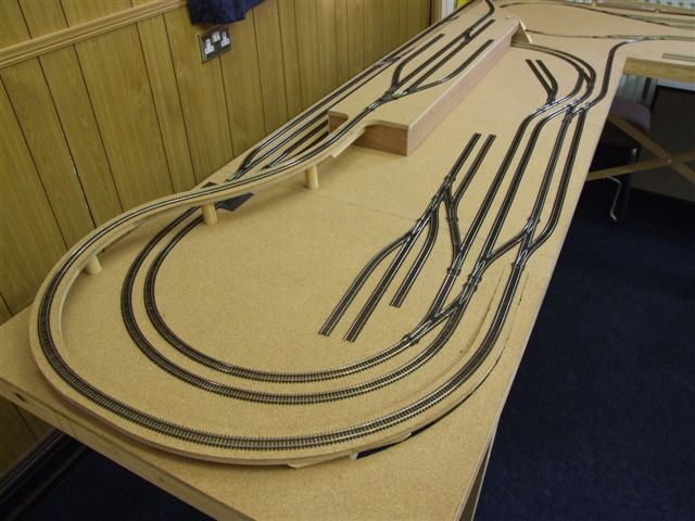 the goods yard model railways recent projects this track plan allows four trains to be run continuously and adds another station to the design