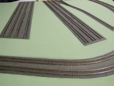 Ballasted Track
